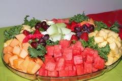 Disco de la fruta fresca Fotografía de archivo