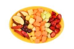 Disco de la fruta fresca Imagen de archivo libre de regalías