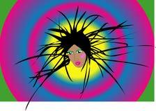 disco de la muchacha Foto de archivo libre de regalías