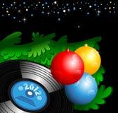 Disco de la Navidad Fotos de archivo libres de regalías