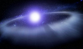 Disco de la ruina alrededor de una estrella #2 Foto de archivo libre de regalías