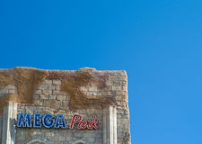 Disco de Megapark en L ` Arenal Imágenes de archivo libres de regalías