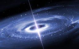 Disco de Protoplanetary Nuevo sistema planetario stock de ilustración