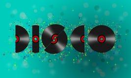 Disco de vinilo del disco imágenes de archivo libres de regalías