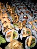 Disco dei sushi Fotografia Stock Libera da Diritti