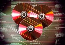 Disco del CD Fotografia Stock