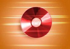 Disco del CD Fotografie Stock