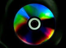 Disco del CD y del DVD imagen de archivo libre de regalías