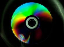 Disco del CD y del DVD fotografía de archivo libre de regalías