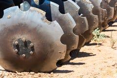 Disco del coltivatore per l'allentamento del suolo Immagini Stock Libere da Diritti