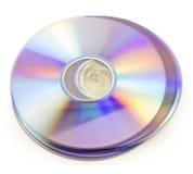 Disco del DVD foto de archivo libre de regalías