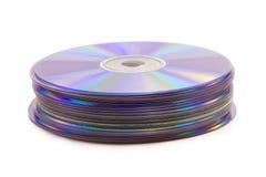 Disco del DVD imagen de archivo