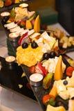 Disco del formaggio Fotografie Stock