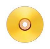Disco del oro Foto de archivo