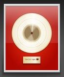 Disco del platino Immagine Stock
