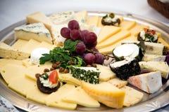 Disco del queso Imágenes de archivo libres de regalías