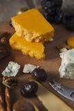 Disco del queso Fotografía de archivo libre de regalías