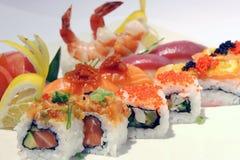 Disco del sushi Fotos de archivo libres de regalías
