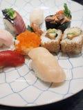 Disco del sushi Imagen de archivo