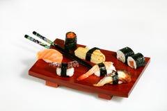 Disco del sushi Foto de archivo