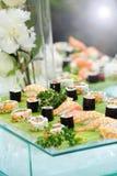 Disco del sushi gastrónomo Imágenes de archivo libres de regalías