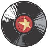Disco del vinile di vettore Immagini Stock Libere da Diritti