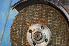 Disco della smerigliatrice Fotografia Stock