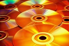 Disco di CD/DVD Fotografie Stock Libere da Diritti