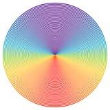 Disco di colore Fotografia Stock Libera da Diritti