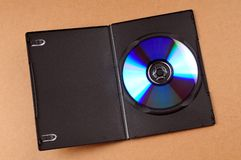 Disco di DVD Fotografia Stock