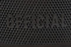 Disco di gomma di hokey fatto nel Canada Immagini Stock Libere da Diritti
