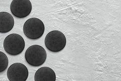 Disco di hockey Fotografia Stock