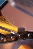 Disco di molatura Immagini Stock