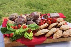 Disco di picnic Immagini Stock