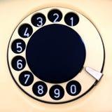 Disco di vecchio telefono fotografia stock libera da diritti