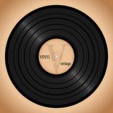 Disco di vinile, retro manifesto di musica di fondo immagini stock