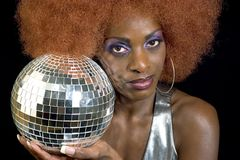 Disco Diva 3 royalty free stock photos
