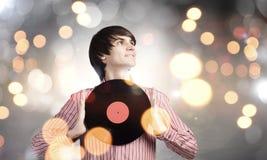 disco DJ Στοκ εικόνες με δικαίωμα ελεύθερης χρήσης