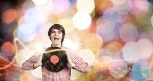 Disco DJ Royalty-vrije Stock Fotografie