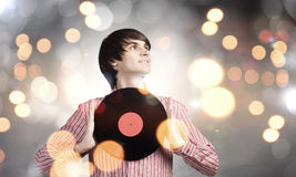 Disco dj Royalty Free Stock Images
