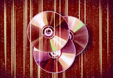 Disco do CD Imagem de Stock Royalty Free
