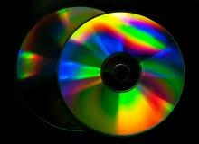 Disco do CD e do DVD fotografia de stock royalty free