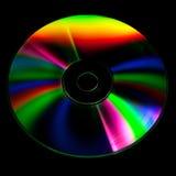 Disco do CD e do DVD foto de stock