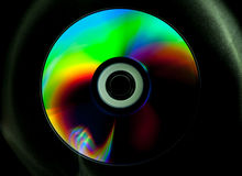 Disco do CD e do DVD fotografia de stock royalty free