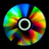 Disco do CD e do DVD fotografia de stock