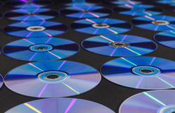 Disco do CD ou do DVD fotos de stock royalty free