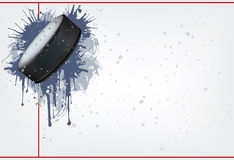 Disco do hóquei Fotos de Stock