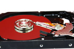 Disco duro Imagem de Stock Royalty Free