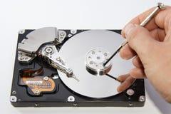 Disco duro de Compuder Fotografía de archivo