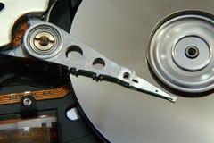 Disco duro de giro Fotografia de Stock Royalty Free